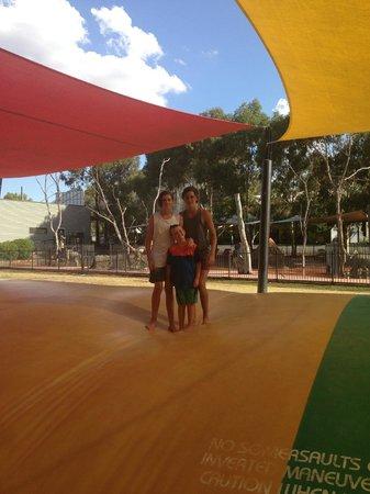 Moama on Murray Resort: Jumping Balloon