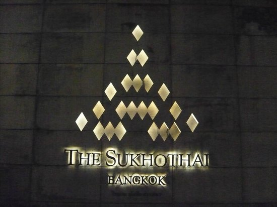The Sukhothai Bangkok: Entrada