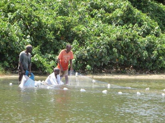 Ras Kutani: lagoon fishing