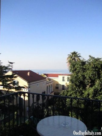 Grand Hotel La Favorita: View of the water over the rooftops