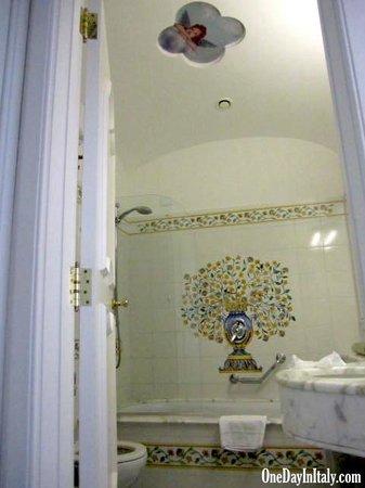 Grand Hotel La Favorita: Bathroom / Bagno
