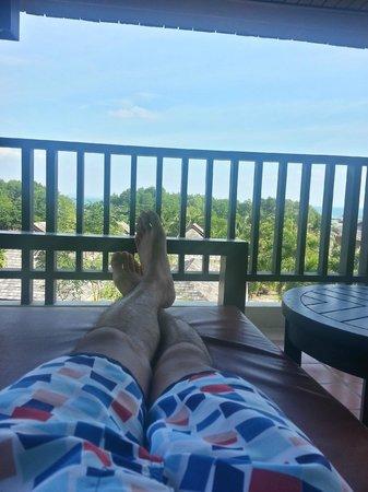 Bhu Nga Thani Resort and Spa: Balcony