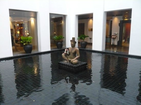 The Sukhothai Bangkok: Patio interior