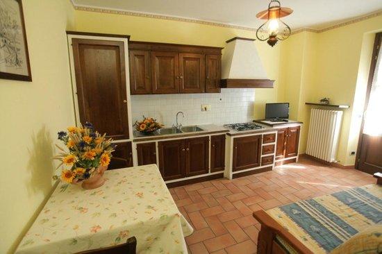 Agriturismo la Rocca Assisi : Appartamento Castagno