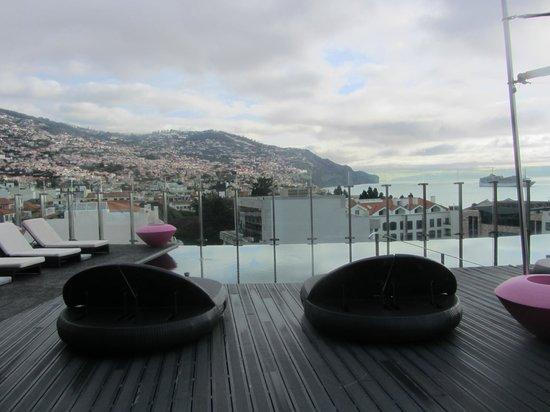 The Vine Hotel: Hotelterrasse