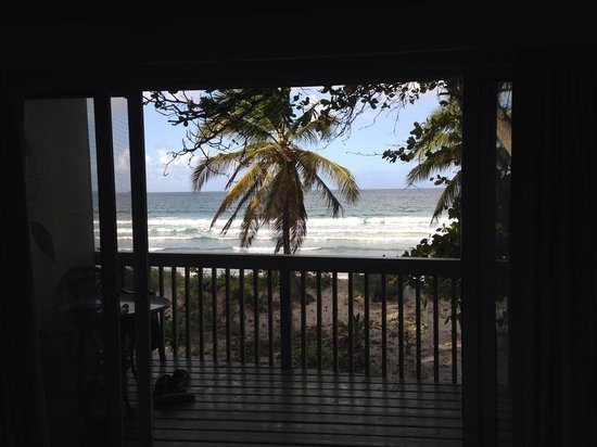 Long Bay Beach Club : View from our beach cabana