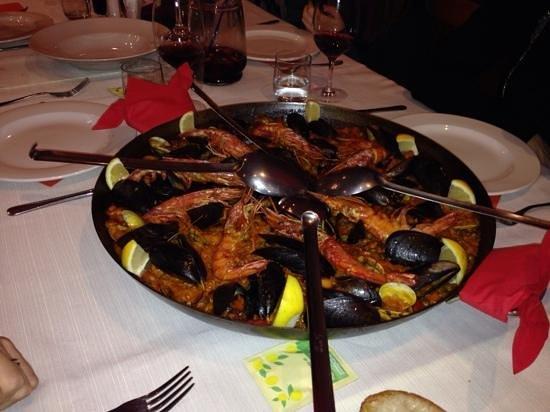 L'Uva Tardiva: la miglior Paella di sempre...