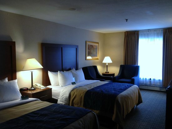 Comfort Inn Ship Creek: Spacious, clean room