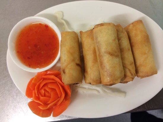 Thai Day: Vegetarian Spring Rolls