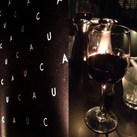 Cau: A glass of wine...