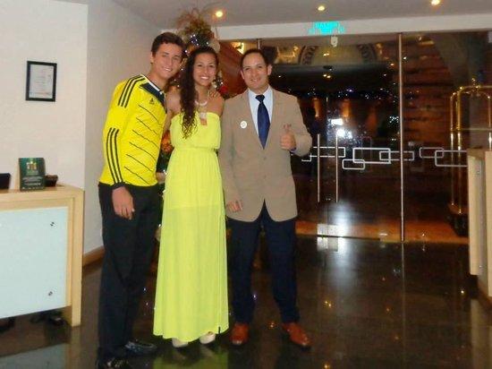 NH Bogota Boheme Royal: Celebrando el año nuevo 2014