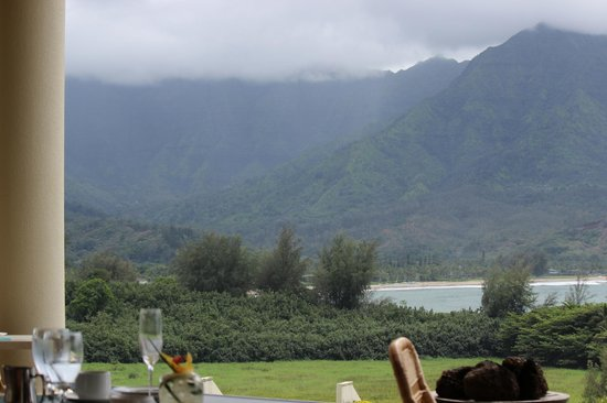 St. Regis Princeville Resort: View from brunch!