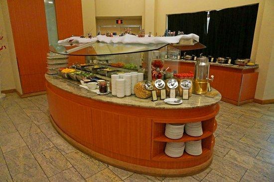 Hilton Québec : Breakfast buffet