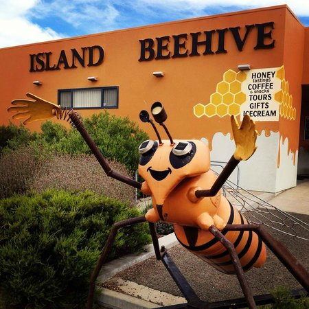 Island Beehive: Get a photo with our bee :)