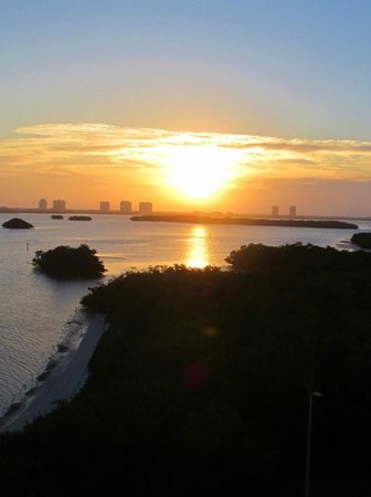 Lovers Key Resort: Sunrise from our room.. beautiful