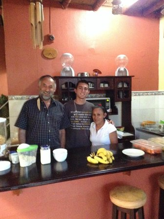 Hotel Pacandé: friendly owner and staff