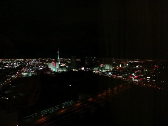 Trump International Hotel Las Vegas: Downtown view from our room