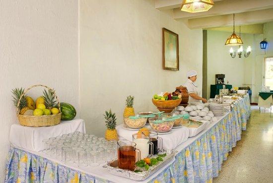 Vista Junior Guadalajara: Buffet
