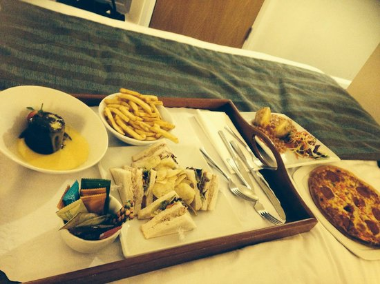 Holiday Inn Liverpool City Centre: Room service��