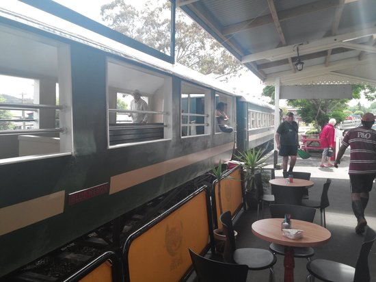 Railway Station Cafe: outdoor