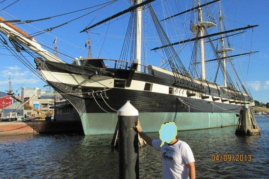 Historic Ships in Baltimore: Barcos muito bonitos !