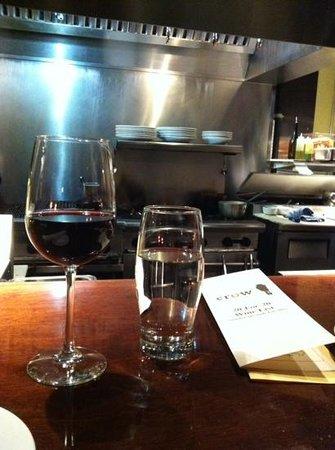 Crow Restaurant & Bar : Kitchen bar