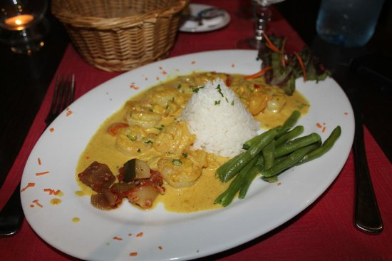 Rudy's : Shrimp Coconut Milk Curry