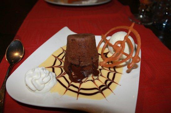 Rudy's: Chocolate Lava Cake