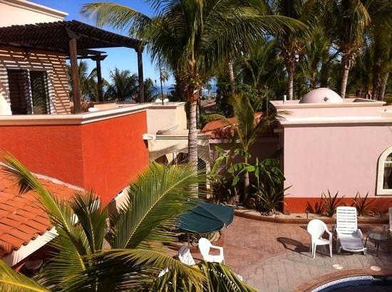 Coco Cabanas Loreto: View off balcony.