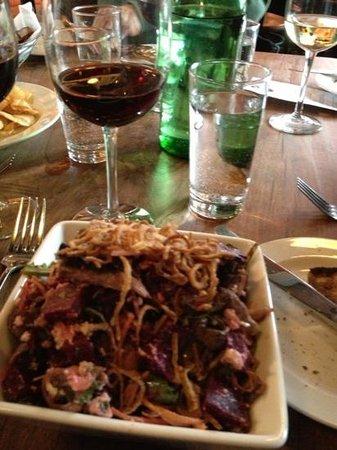 Bluebeard : Awesome beet salad!