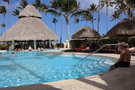 Secrets Royal Beach Punta Cana: Swim up bar