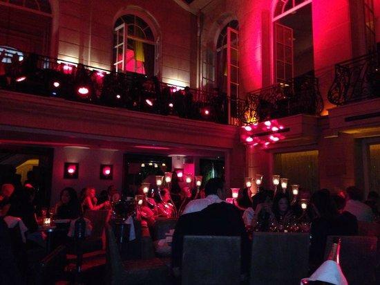 Pershing Hall: main hall