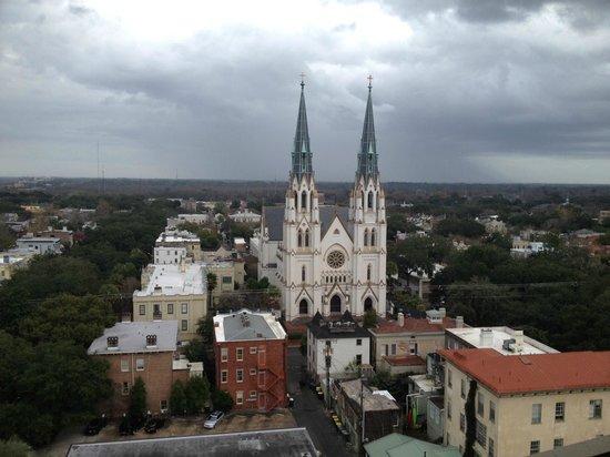 Hilton Savannah Desoto: View from 12th floor