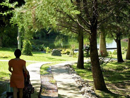 Villa Sao Romao: Caminho para o Lago