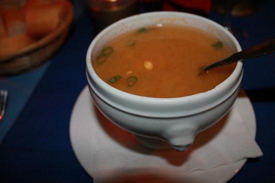 Les Tipaniers: Fish soup