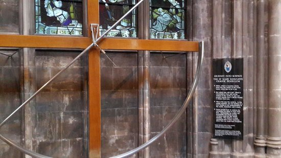 St Mary Redcliffe Church: The chaos pendulum