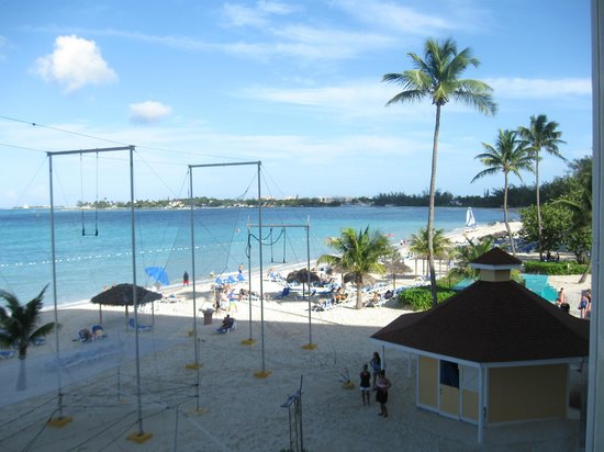 Breezes Resort & Spa Bahamas : View from our room on third floor