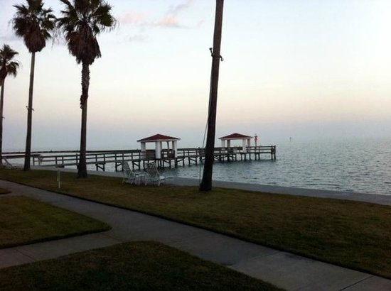 Lighthouse Inn at Aransas Bay: View from our room!