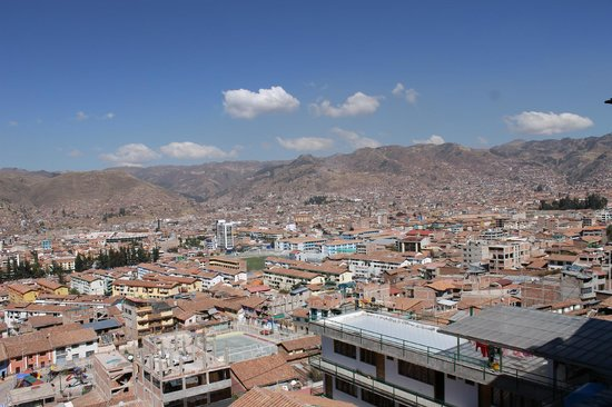 Wyndham Cusco Saqsayhuaman: Panoramic iew of the city