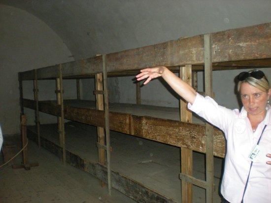 Terezin Memorial: Sleeping conditions