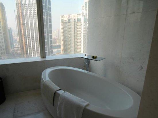 InterContinental Hotel Dalian: 快適なバスルーム