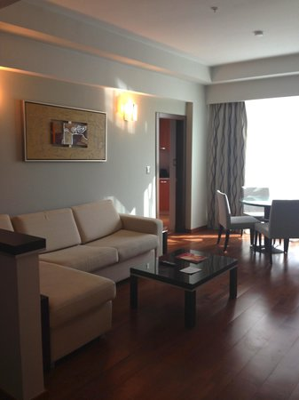 Marriott Executive Apartments Panama City, Finisterre: Living Room