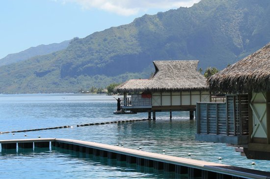 Bungalow 514 Picture Of Intercontinental Moorea Resort