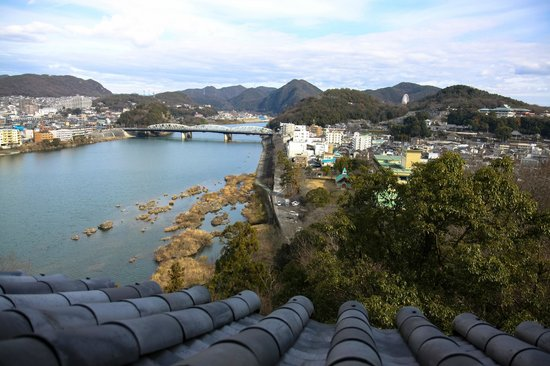 Inuyama Castle : View from the second floor.