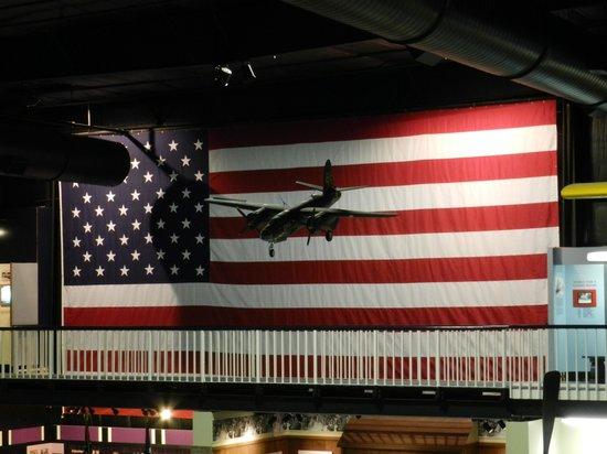 Air Force Armament Museum: American Flag