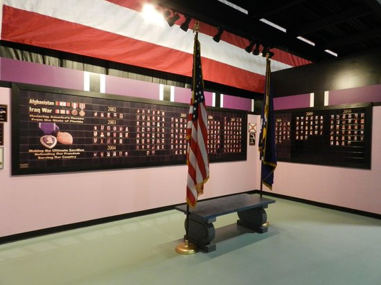 Air Force Armament Museum: Memory booth of those lost in Iraq