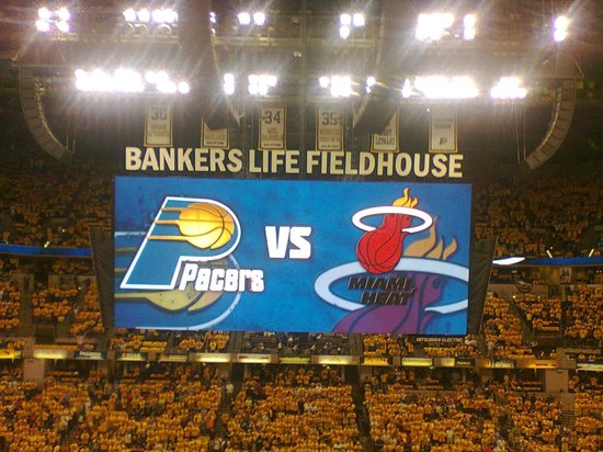 Bankers Life Fieldhouse: This place was packed