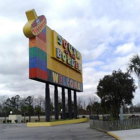 South of the Border: SOTB sign