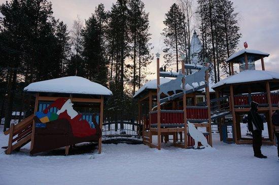 Village du Père Noël : Playground for kids
