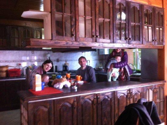 Hostal el Nogal Pucon: Our Kitchen